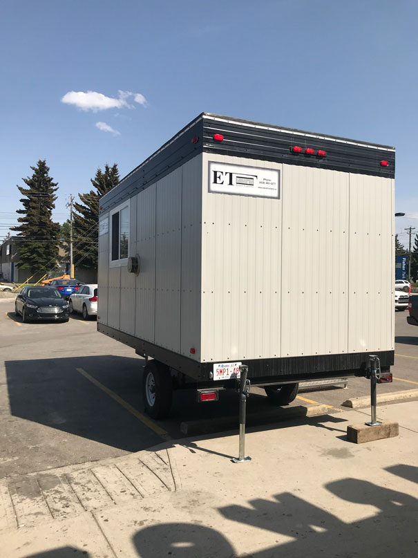 Trailers For Sale Calgary >> Trailer 8x16 wheeled office trailer