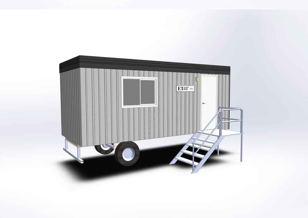 Office trailer rent Calgary